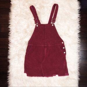 Corduroy | Woven Dress | NWT